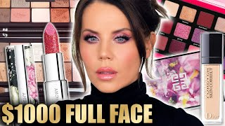 $1000 FULL FACE LUXURY MAKEUP TESTED