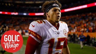 NFL Week 4 breakdown: Patrick Mahomes leads Chiefs comeback over Broncos | Golic & Wingo | ESPN