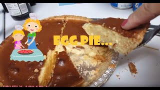 How to make EGG PIE || Cooking with Mikaela