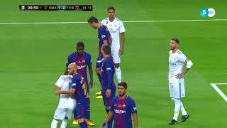 Barcelona vs Real Madrid   lượt về Siêu Cup Tây Ban Nha│17/8/2017│Xem Bóng Đá HD