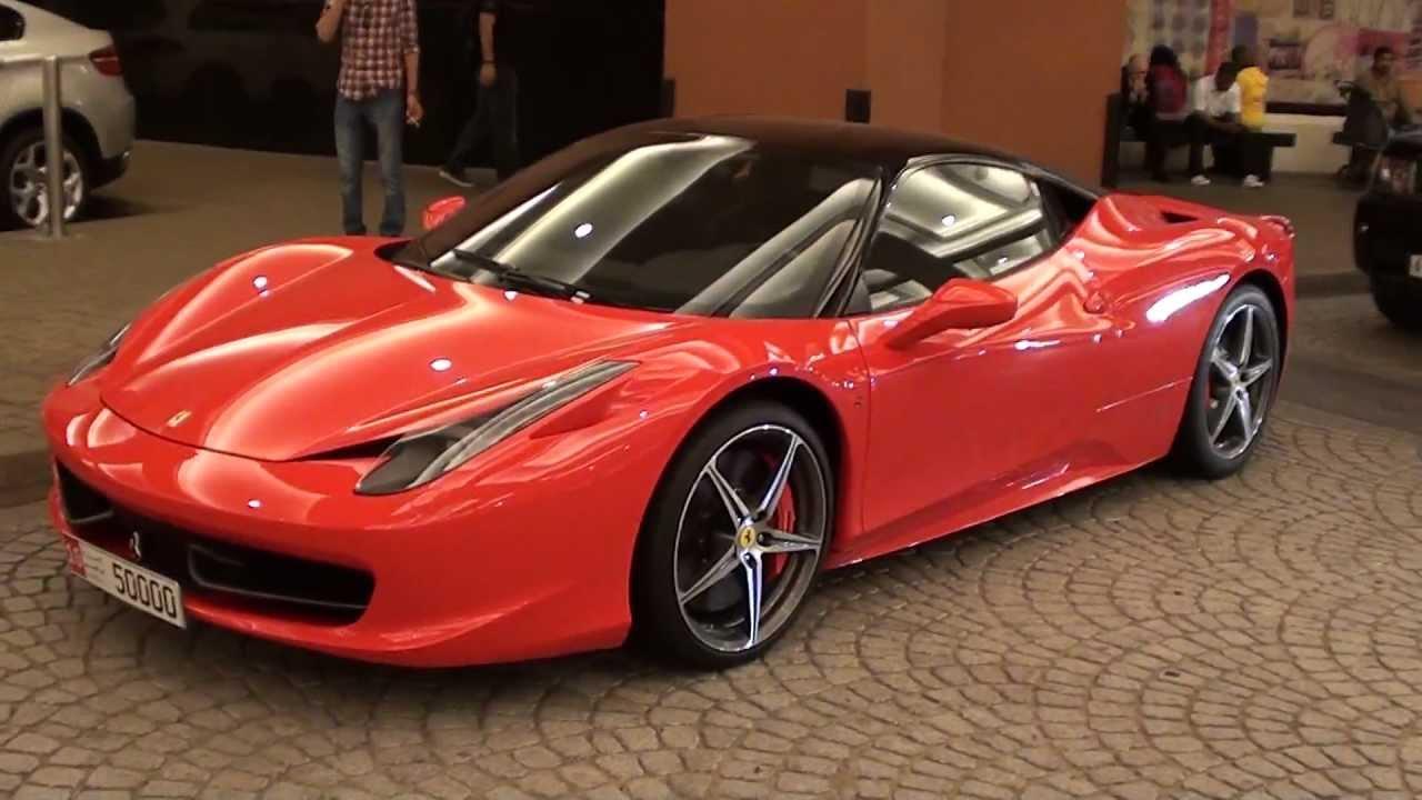 Ferrari 458 Italia Black Red 50000 Youtube