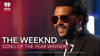 The Weeknd Acceptance Speech - Song Of The Year | 2021 iHeartRadio Music Awards