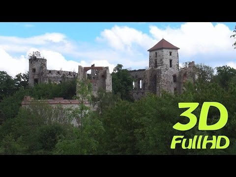 [3DHD] Tenczyn Castle, Rudno, Poland / Zamek Tenczyn, Rudno, Polska