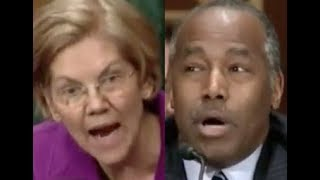 """YOU SHOULD BE FIRED!!!"" Elizabeth Warren GETS PISSED OFF & DESTROYS Trump Lackey Ben Carson"