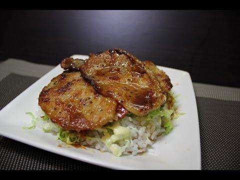 【HD】How to make ginger pork saute しょうが焼き
