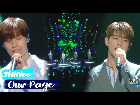 [HOT][쇼음악중심] SHINee- Our Page  ,샤이니 - 네가 남겨둔 말  Show Music core 20180707