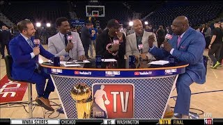 "NBA GameTime | Draymond & Ibaka ""reacts to"": Raptors destroys Warriors 123-109; TOR leads series 2-1"