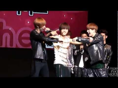 [HD]120616 Sukira Piano Concert - Kai & Sehun's dance, Chanyeol's beatbox!!!!