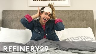 Exclusive Look At Lucie Fink's Morning Routine | Lucie Vlogs | Refinery29