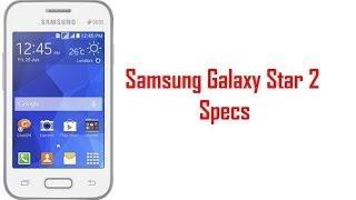 Samsung Galaxy Star 2 Specs & Features