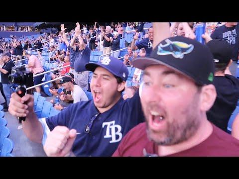 Incredible Night at Tropicana Field - Tampa Bay Rays Wander Franco Hits 1st MLB Home Run vs Red Sox