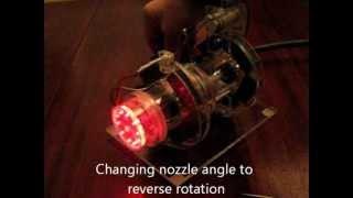 Tesla Turbine With Magnetic Bearings II