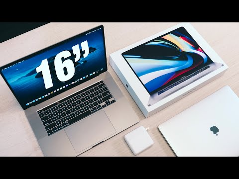 """16"""" MacBook Pro UNBOXING and SETUP"""