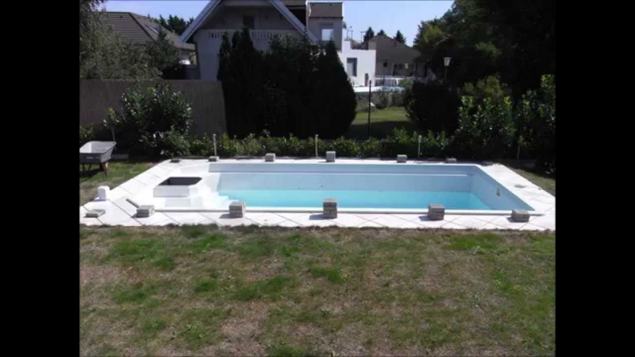poolabdeckung selber bauen schnell und g nstig how to build a pool cover youtube. Black Bedroom Furniture Sets. Home Design Ideas
