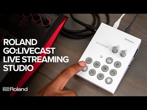 video Roland GO LIVECAST Live Streaming Studio for Smartphones