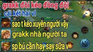 Troll Game - Giả Ngu Grakk Đòi Kéo Đồng Đội Và Cái Kết Cười SML | Yo Game