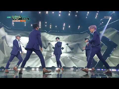 뮤직뱅크 Music Bank. O.M.G - 헤일로 (HALO). 20160504