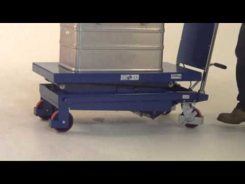 Scissor Lift Table - Single Scissor 300kg