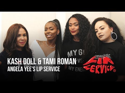 Angela Yee's Lip Service Feat. Kash Doll and Tami Roman