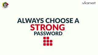 Vianet Stay Safe Online - Password