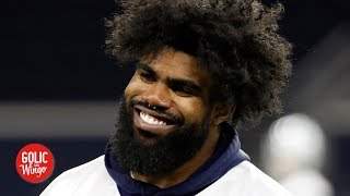 Ezekiel Elliott and the Cowboys agree to a 6-year, $90M extension | Golic and Wingo