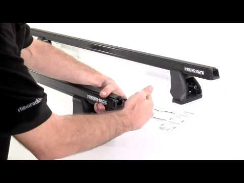 Rhino Rack HD Series Roof Racks video  how to installation