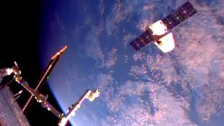 Space X Dragon CRS-11 Release From ISS Timelapse 8x