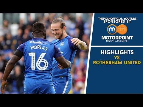 Peterborough United vs Rotherham United