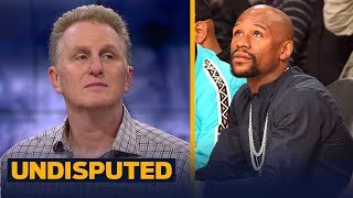 Michael Rapaport reacts to Dana White's comments on Floyd Fighting in UFC | UNDISPUTED