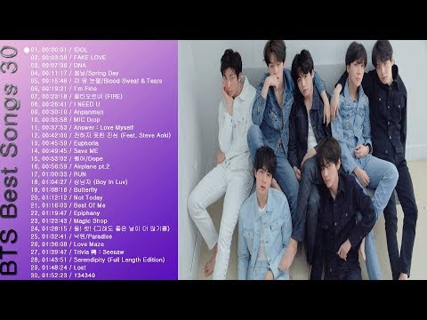 BTS[방탄소년단]💜노래모음/Best Songs30