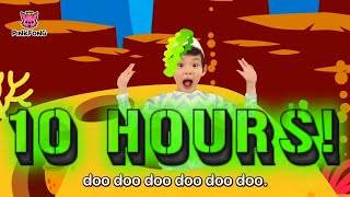 Baby Shark Dance | Sing and Dance | 10 Hours Non Stop
