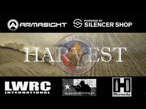 Armasight Graphic Content Texas hog Erradication Harvest time