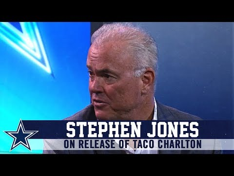 Stephen Jones on the Release of Taco Charlton | Dallas Cowboys 2019