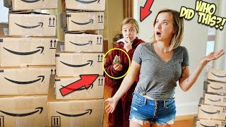 KIDS HACK PARENTS AMAZON ACCOUNT!! WILL THEY GET CAUGHT?!