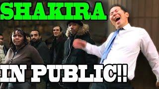 SINGING IN PUBLIC - SHAKIRA!!