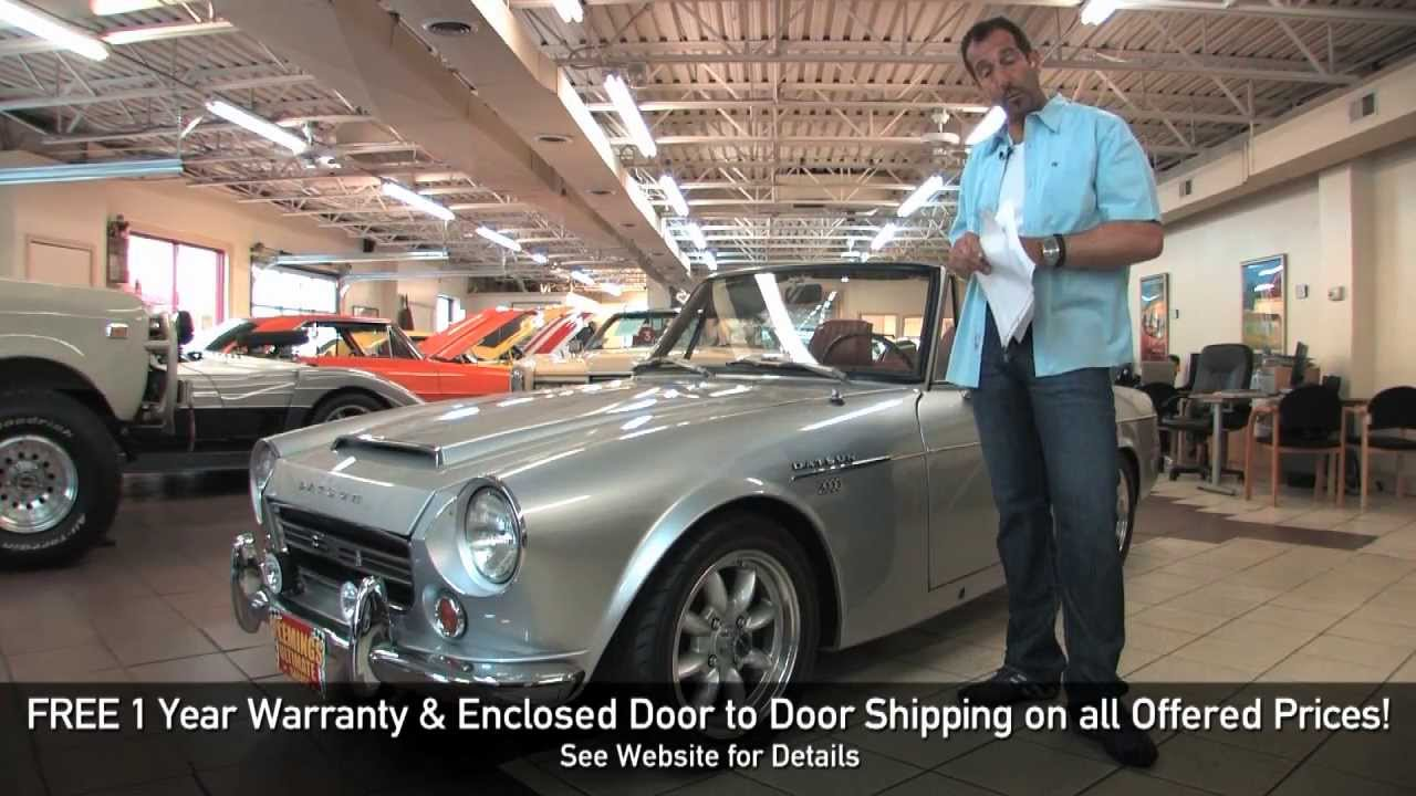 1969 Datsun 2000 Roadster by Ultimate Garage on YouTube