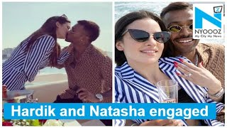 Hardik Pandya announces engagement with Natasa Stankovic, ..