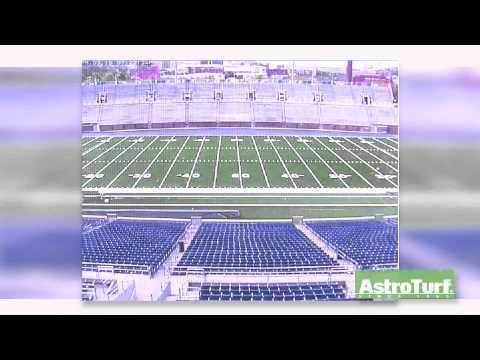 Finley Stadium - AstroTurf Installation Time Lapse