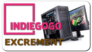 Indiegogo Excrement - Little Kids & Gaming Computers