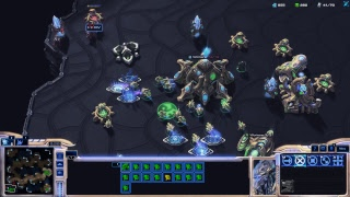 Starcraft 2, silver league player having fun