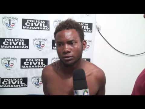 Matador de velhinho tenta intimidar o repórter: veja o vídeo