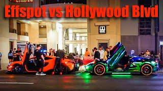Car Spotting Gone WEIRD: Hollywood Blvd Edition
