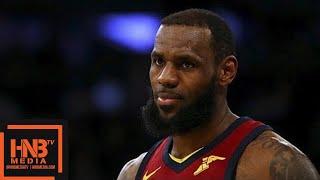 Cleveland Cavaliers vs New York Knicks Full Game Highlights / April 11 / 2017-18 NBA Season