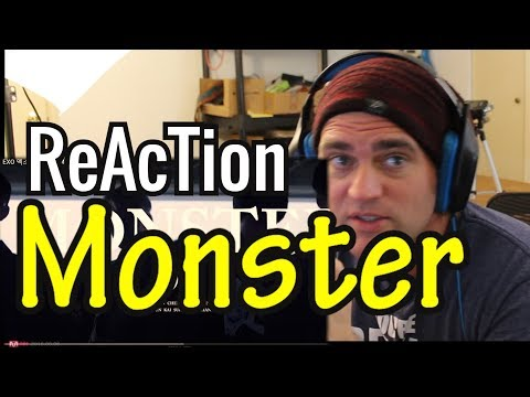Reaction to Monster // EXO // Kpop