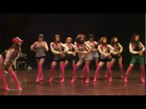 SNSD - Oh! mirrored dance practice [audiofix]