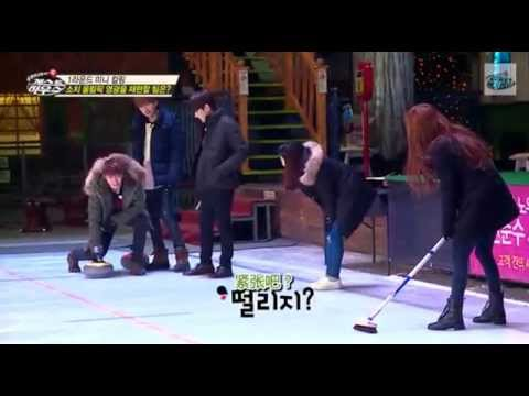 [GAME CUT] 141228 SJM GuestHouse - Eunhyuk VS Donghae (ROUND 1)