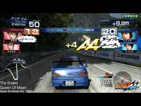 Queen Of Mean - The Snake : Initial D Arcade Stage 6 AA (Double Ace) 頭文字D6 BGM