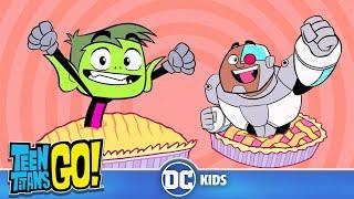 Teen Titans Go! | Pie Day 🥧 | DC Kids