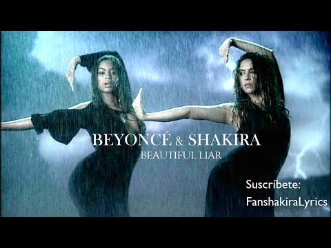 Beyoncé & Shakira - Beautiful Liar [Lyrics]