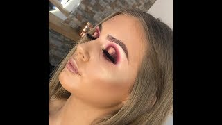 Spotlight Glam Makeup Tutorial | Hope Phillips MUA| Huda Beauty desert dusk palette